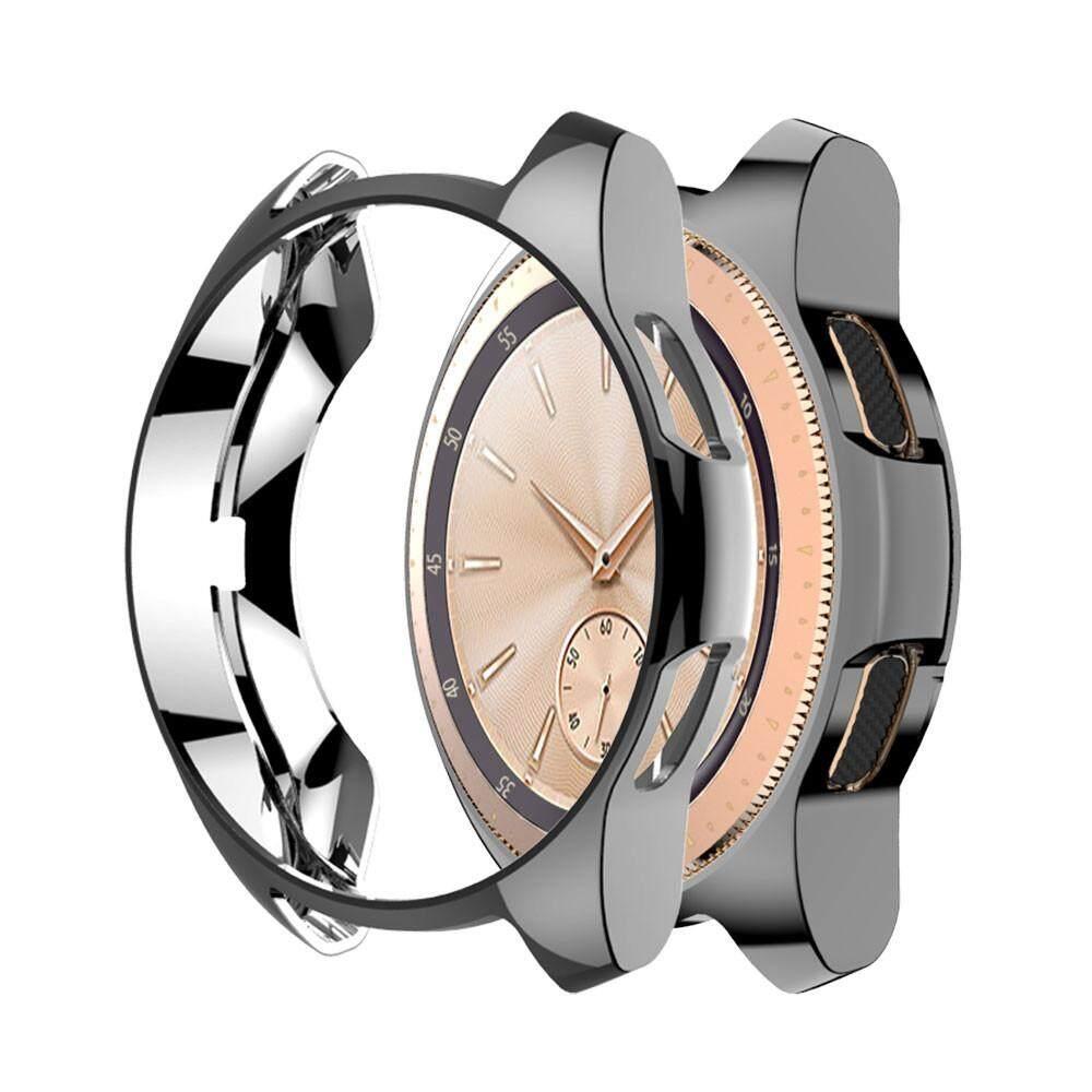Lambertshop Ultra Tipis Tpu Plating Kotak Penutup Pelindung Untuk Samsung Galaxy Watch 42 Mm By Lambertshop.
