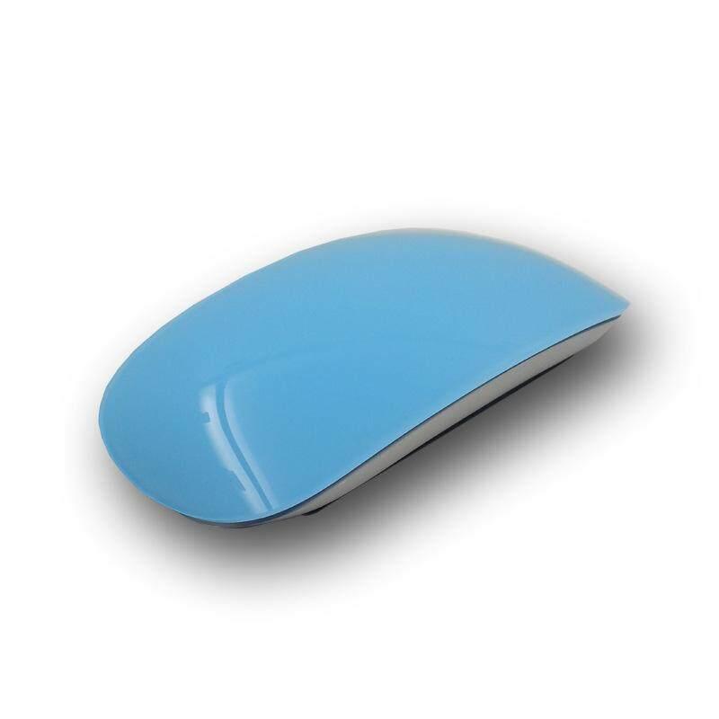 Offer Khuyến Mãi Di Động Bluetooth 2.4G Chuột Mỏng Cực-Silent Mouse Quang Không Dây Cho Máy Tính