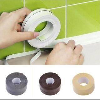 1 X Băng Dán Tường PVC Dính Chìm Bếp Bếp Phòng Tắm Góc Băng Keo Dải Chống Thấm Khuôn Bằng Chứng thumbnail