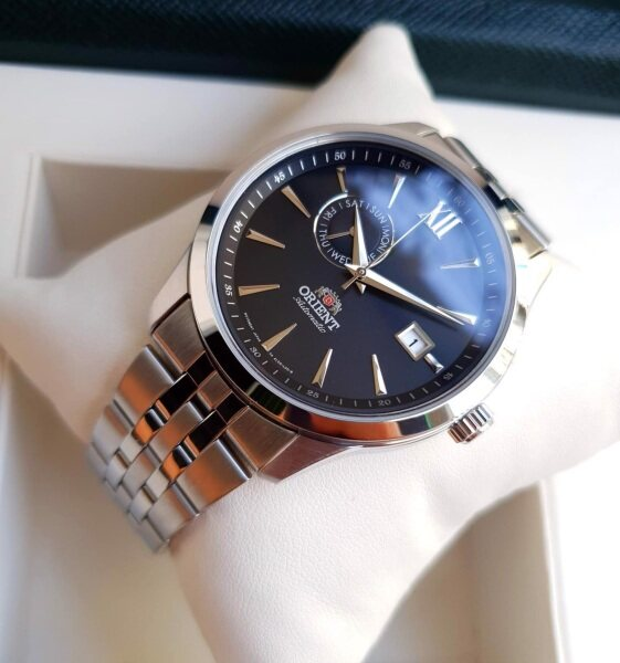 [Genuine] Orient FAL00002B0 Classic Mechanical Stainless Steel Bracelet Mens Watch Malaysia