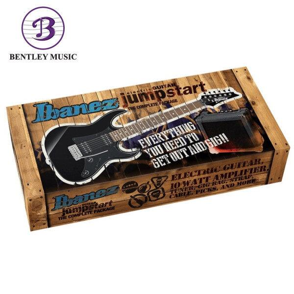 Ibanez IJRX20E Jumpstart Electric Guitar Pack, Black Night Malaysia