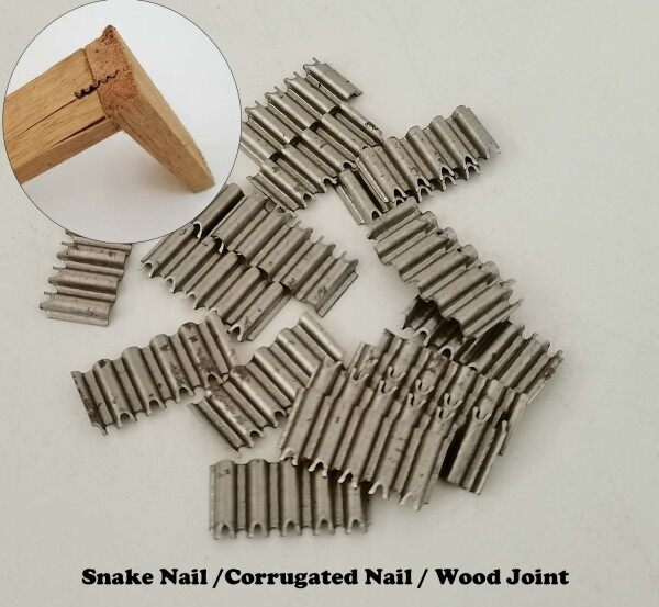 Heavy Duty Snake Nails/ Corrugated Nails For Wood Joint And Furniture