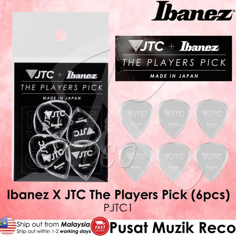 Ibanez & JTC Guitar PJTC1 THE PLAYERS PICK Guitar Picks 6pcs (Made in Japan) Malaysia