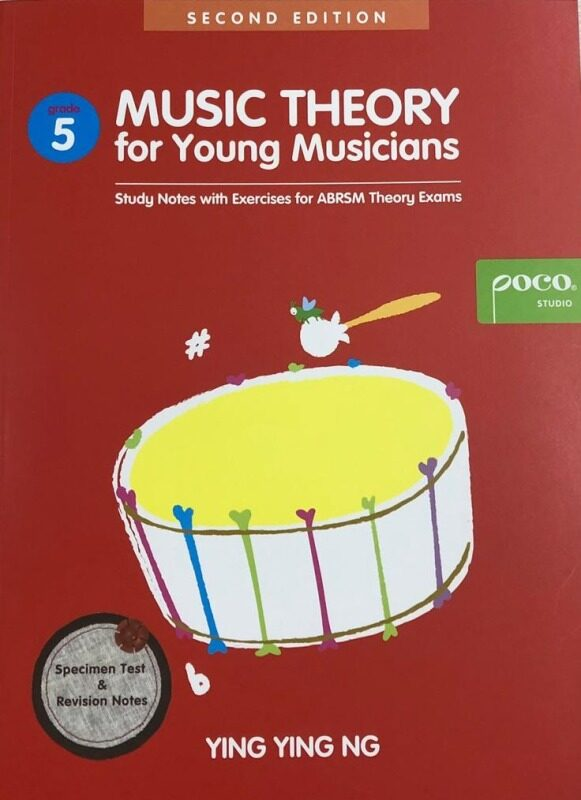 Poco Music Theory For Young Musicians Grade 5, Third Edition Malaysia