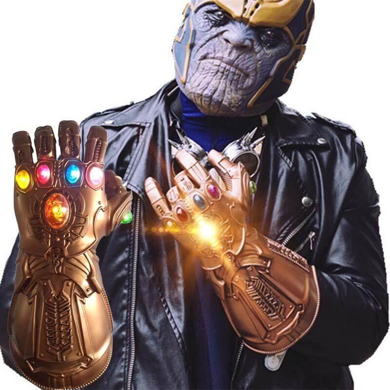 Avengers Vô Cực Chiến Tranh Vô Cực Nhẹ LED Thanos Găng Tay Có Đèn LED Cosplay Chống Đỡ Siêu Ưu Đãi tại Lazada