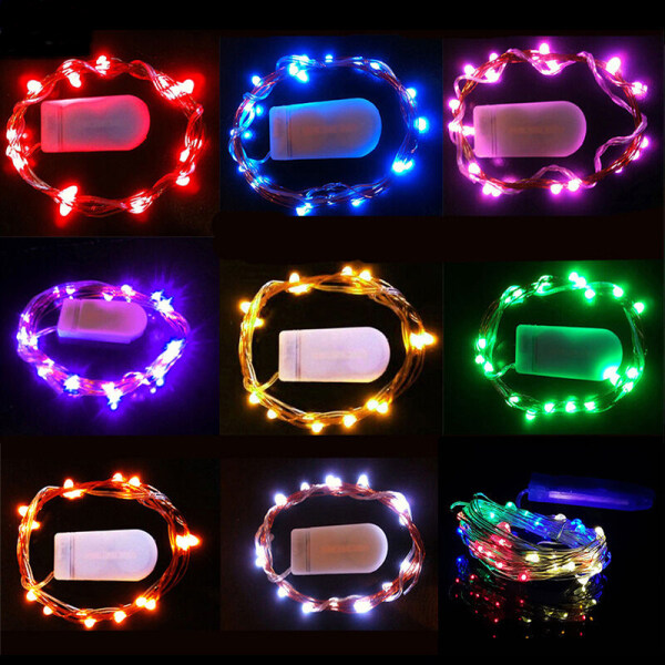 Bảng giá Máy Sưởi Ấm 1/2/3/5 Mét, Đèn LED Tiên Chạy Pin, Trang Trí Nhà Giáng Sinh Dây Tự Làm Phòng Ngủ Tiệc Cưới