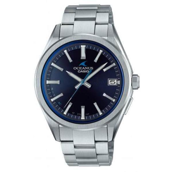[Casio] Wrist Watch Oceanus CLASSIC LINE Bluetooth Equipped Radio Solar OCW-T200S-1AJF Mens Silver Malaysia