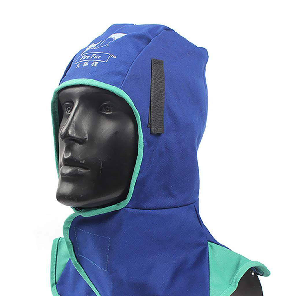 Neck Protective Helmet Head Safety Cap Flame Retardant Welding//Torching Hood