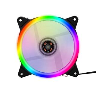 AJAZZ Quạt Tản Nhiệt Máy Tính RGB, Vỏ Quạt Làm Mát RGB 12Cm Vỏ Quạt Làm Mát Quạt Làm Mát Không Ồn Với Đèn RGB Nhiều Màu Không Điều Chỉnh Được Quạt 1 3 5 thumbnail