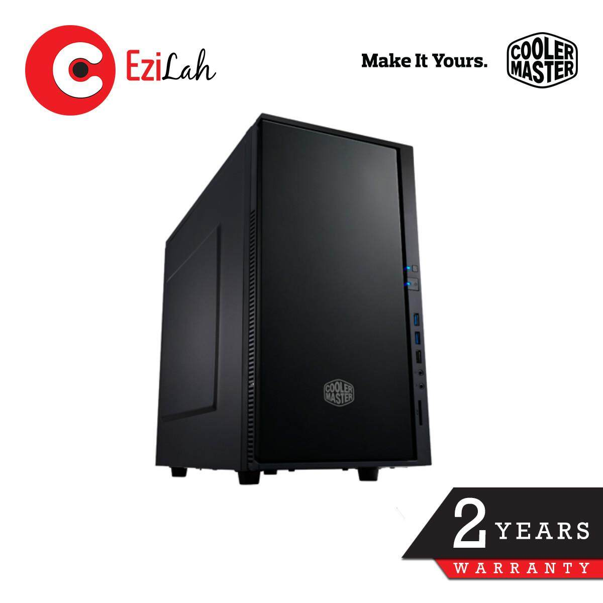 (Last Chance!) Cooler Master Silencio 352 Micro-ATX Matt Finish Silent Case with Noise Cancelling Foam Malaysia