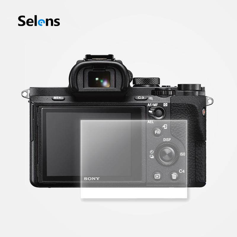 Selens Professional Optical Glass LCD Screen Protector Cover Film for Sony A7II