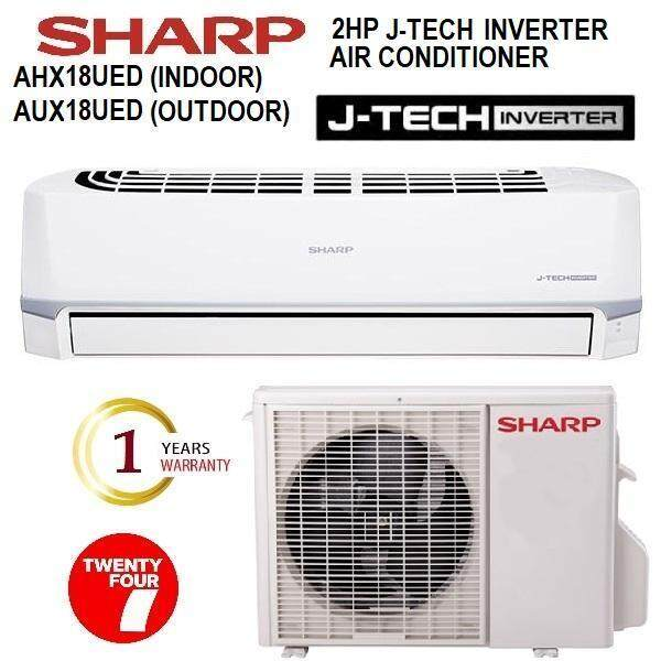 SHARP 2HP J-TECH INVERTER AIR CONDITIONER AHX18UED / AUX18UED