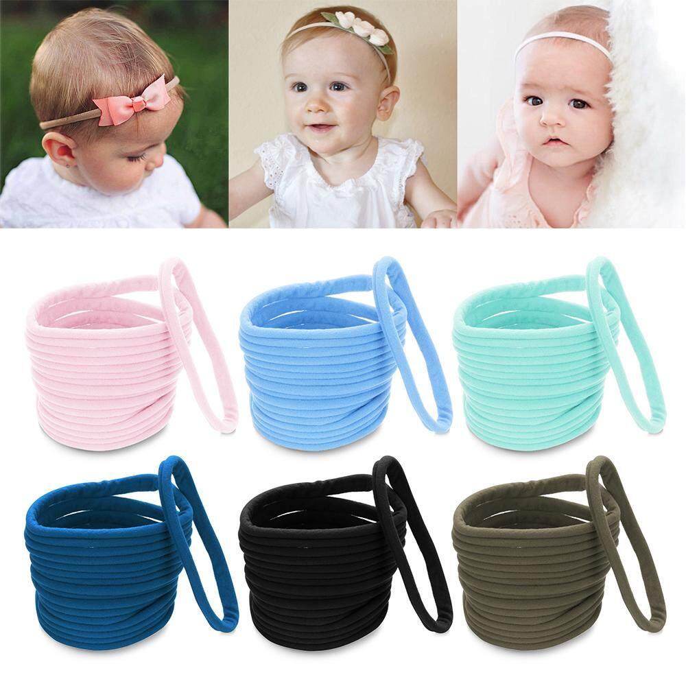 Thin Nylon Hairband Headband for Baby Elastic Head Band DIY Hair Accessories