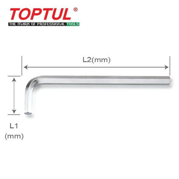 TOPTUL Long Type Hex Key Wrench (AGAL series)