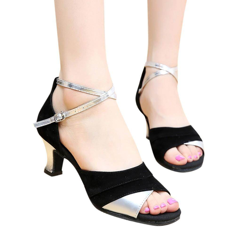 Lijiangangstore 2019 Womens Rumba Waltz Prom Ballroom Latin Salsa Dance Shoes Square Dance Shoes By Lijiangangstore.
