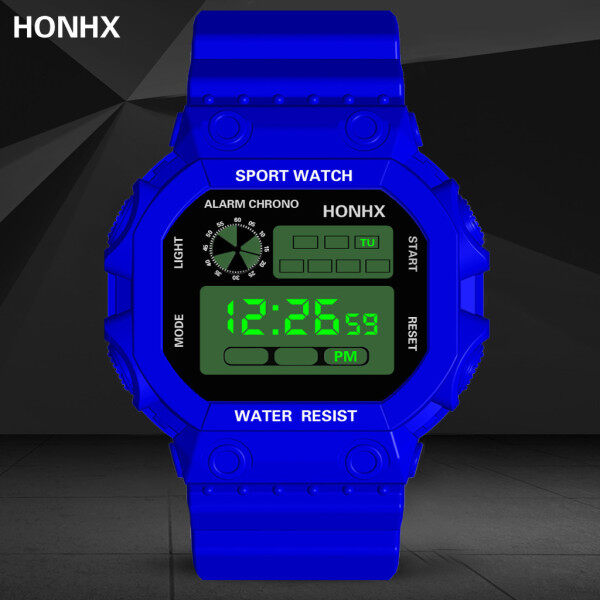 Mens Watch On Sale Waterproof Watch For MenHONHX Luxury Analog Digital Outdoor Watch Military Sport LED Waterproof Watch Malaysia
