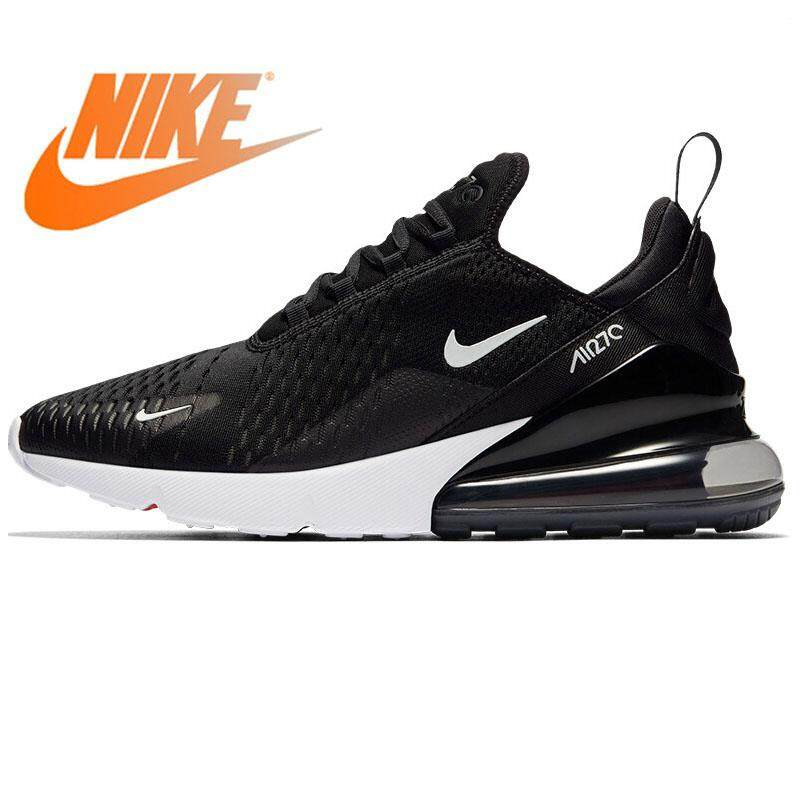 e140837786c Singapore. Original 2018 NIKE AIR MAX 270 Women s Running Shoes Lace-up  Cushioning Breathable Sneakers Sports