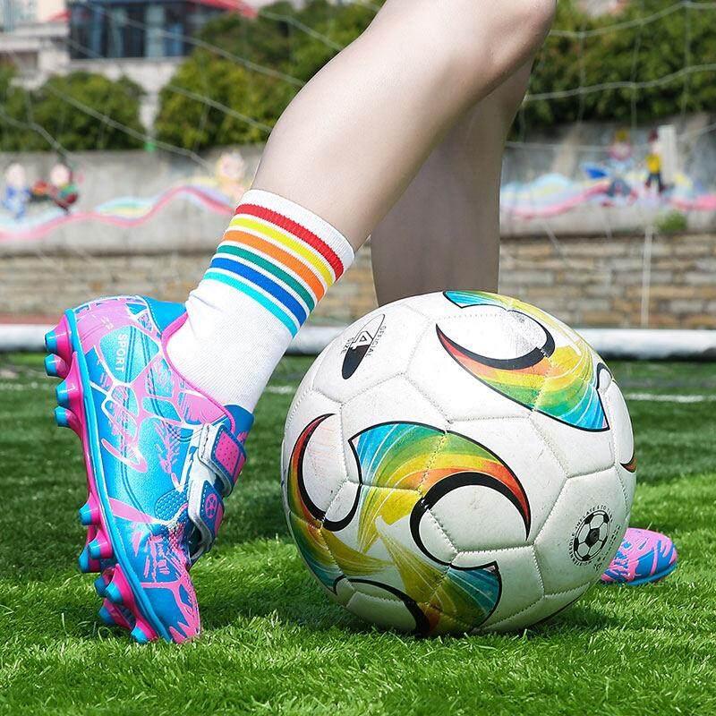 YEALON Giày Đá Bóng Trẻ Đá Bóng Sepatu Futsal Giày Thể Thao Trẻ Em Mềm Giày Futsal Sepatu BOLA Giày Đá Bóng bé trai Sepatu Futsal Thông Số Kỹ Thuật Superfly Ban Đầu Banh Sepak Futsal Trẻ Em Size28-39 18