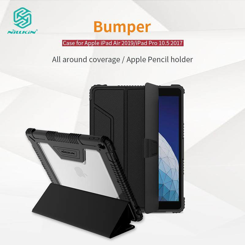 Nillkin For Ipad Air 2019 And Ipad Pro 10.5 2017 Case Pu Leather + Pc Cases Smart Flip Cover Shockproof Tough Phone Bags Shell For Ipad Pro 10.5 2017 By Nillkin Global Store.