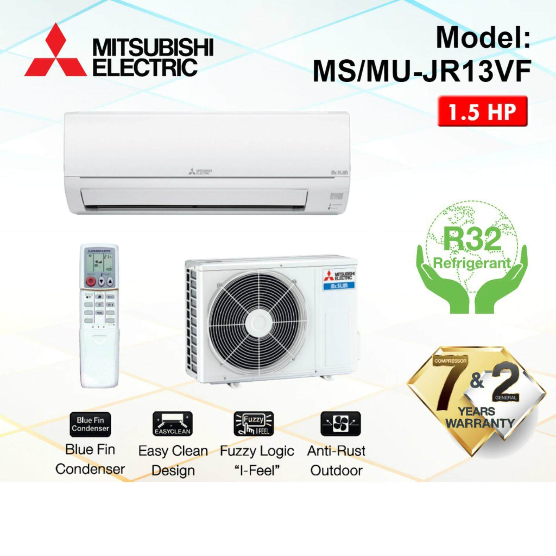 Mitsubishi Air Conditioner With Non Inverter , Easy Clean And Dual Barrier Coating MIT-MS-JR13VF-INDOOR