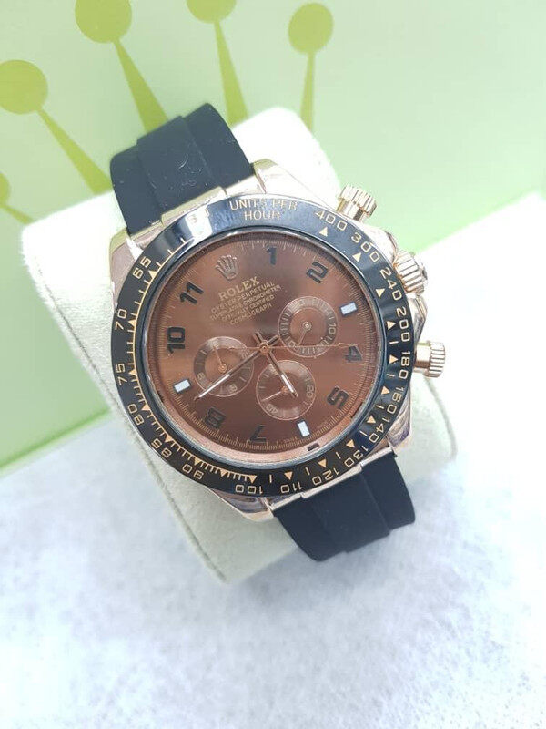 SPECIAL PROMOTION R0LEX YATCH MASTER AUTOMATIC RUBBER STRAP WATCH FOR MEN Malaysia