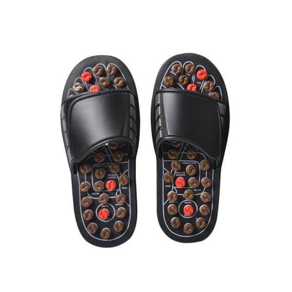 Household Foot Acupoint Acupressure Massage Slippers Springs Reflexology Sandals Health Care Shoes
