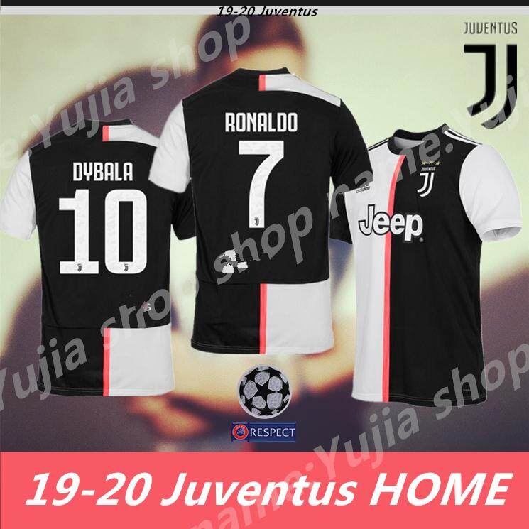 5e18753a5 19-20 Season Best Quality Juventus HOME Soccer Jersey Football Jersey(can  Print number