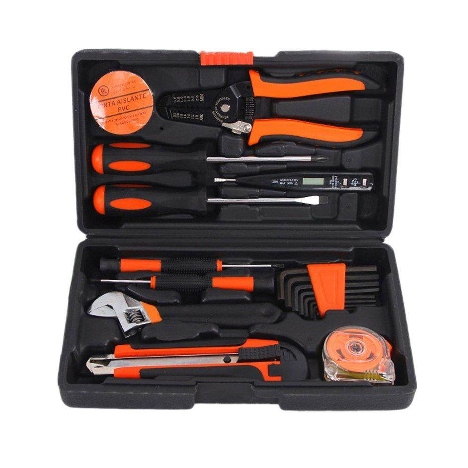 HERE 20PCS/SET Durable Telecommunications Tool Set Home Hardware Combination Kit