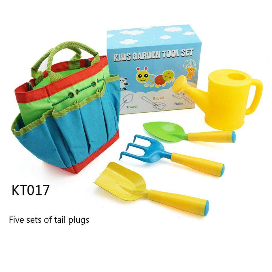 HERE Supply ChildrenS Garden Tool Set Simple Discount Handle Plastic Shower