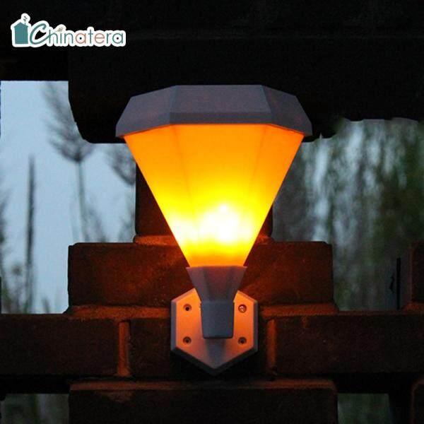 [Chinatera] Đèn Tường Lục Giác Chống Nước Theo Tiêu Chuẩn IP65 51 LED SMD Sử Dụng Năng Lượng Mặt Trời Lối Đi Cảnh Quan Sân Vườn Cầu Thang Gắn Đèn
