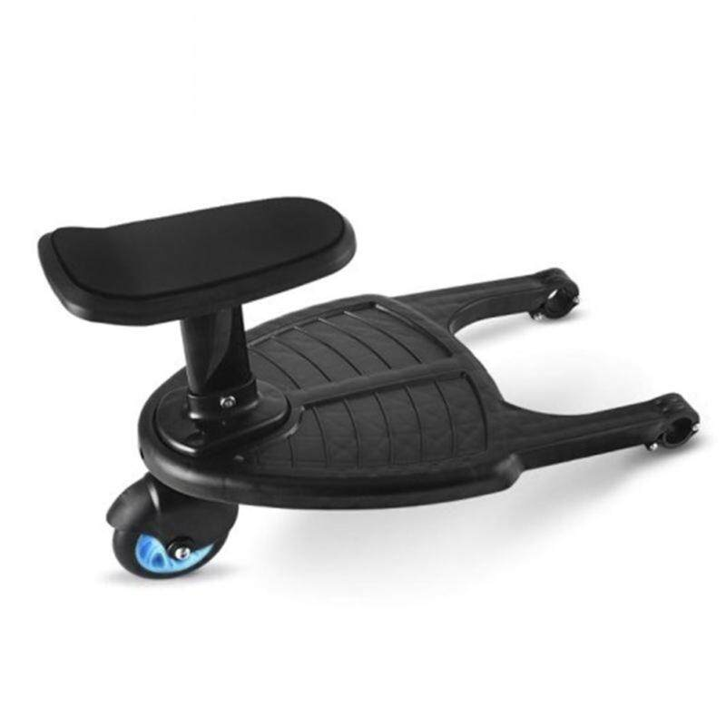 [Free Shipping]Funny Day Stroller Auxiliary Pedal Double Child Artifact Trailer Singapore