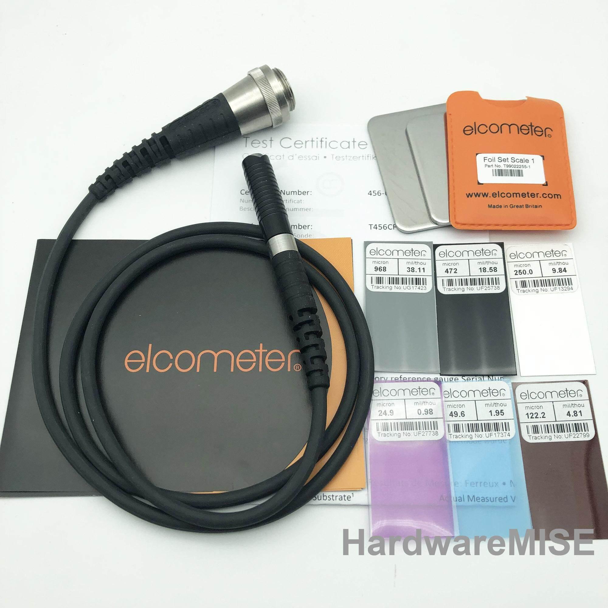 Elcometer 456 T456CF1S T456CFNF1S F1 Standard Probe 0-1500um/0-60mils