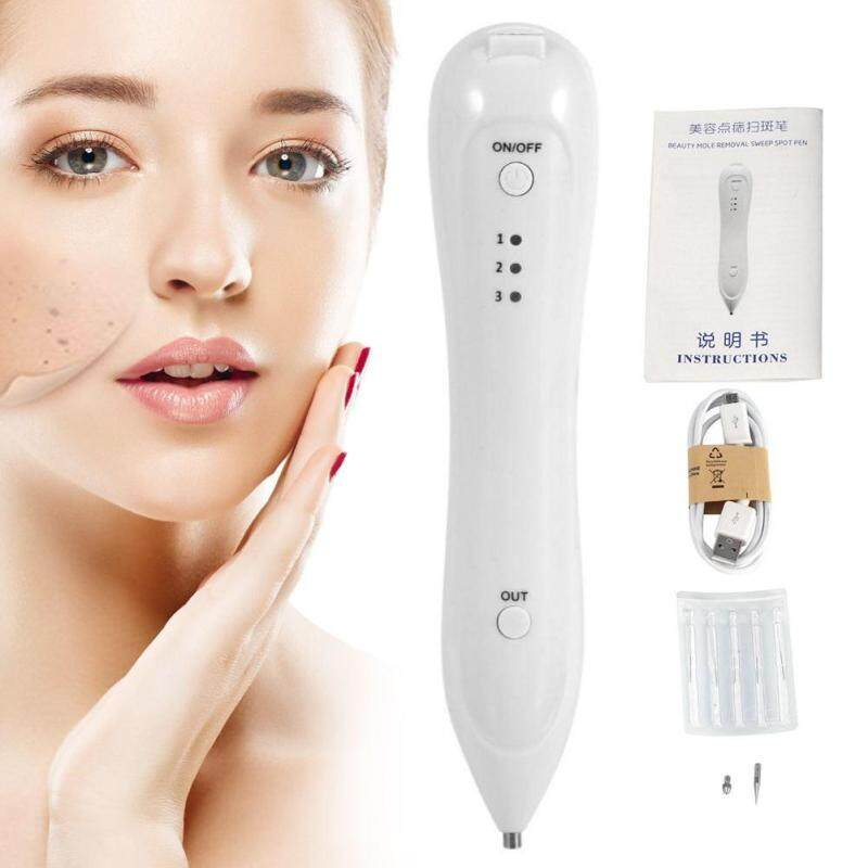 hoamio Portable USB Mole Freckle Removal Pen Three Levels Adjustable Spot Tato Remover Device