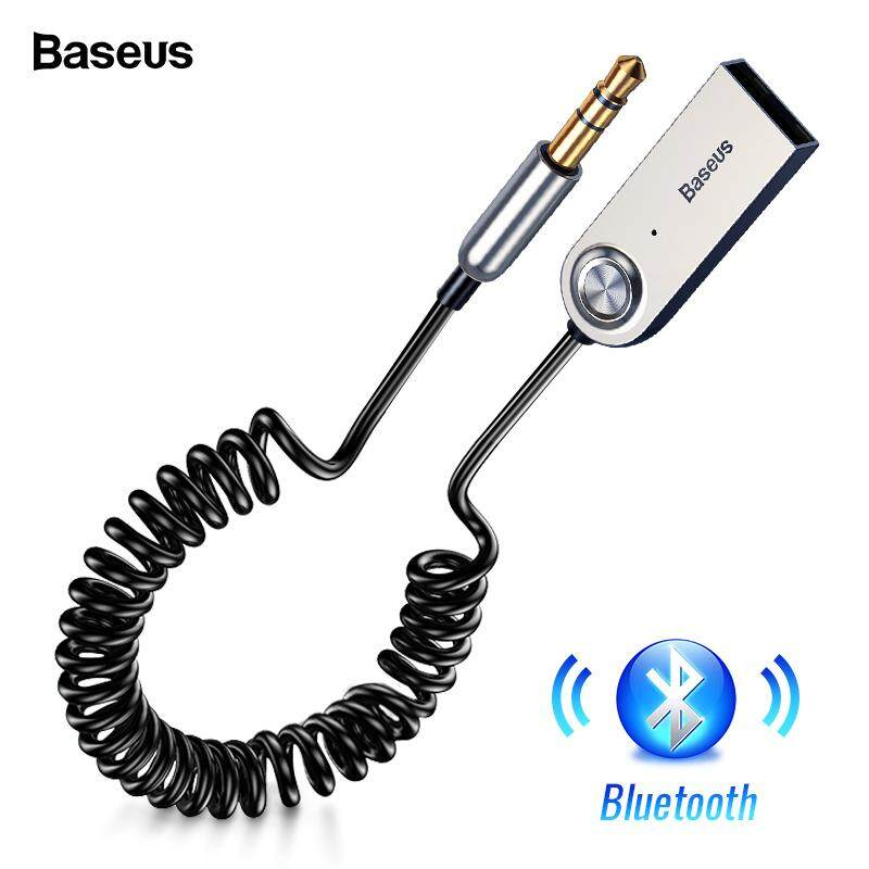 Mini Wireless Bluetooth Aux Handsfree Bluetooth Car kit Audio Adapter Aux USB to 3.5mm Jack with Mic for Car Speaker Handsfree USB Aux Bluetooth Adapter Dongle Cable For Car 3.5mm Jack Aux Bluetooth 5.0 4.2 4.0 Receiver Audio Transmitter