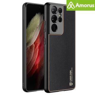 Ốp Da Nhựa PC Lai Amorus 3C DUX DUCIS YOLO Series, Dành Cho Samsung Galaxy S21 Ultra 5G thumbnail