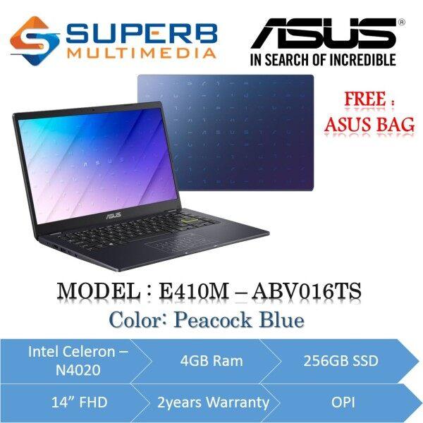ASUS E410M-ABV016TS ( INTEL CELERON N4020 / 4GB RAM / 256GB SSD / 14 FHD / 2YRS WARRANTY / OPI / WINDOWS 10 ) Malaysia