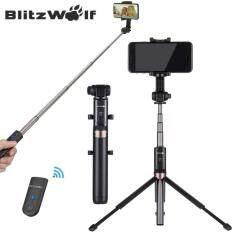 VR3 BW-BS4 Mở Rộng Đa góc Quay bluetooth Tripod Gậy Chụp Hình Selfie Stick cho Điện Thoại Thông Minh