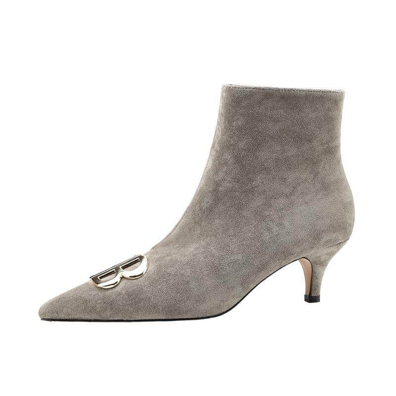 dc2464150c7 Winter Plush Warm Women Boots 2019 Women Square Heel Ankle Snow Boots Ladies  Platform Artificial Fur