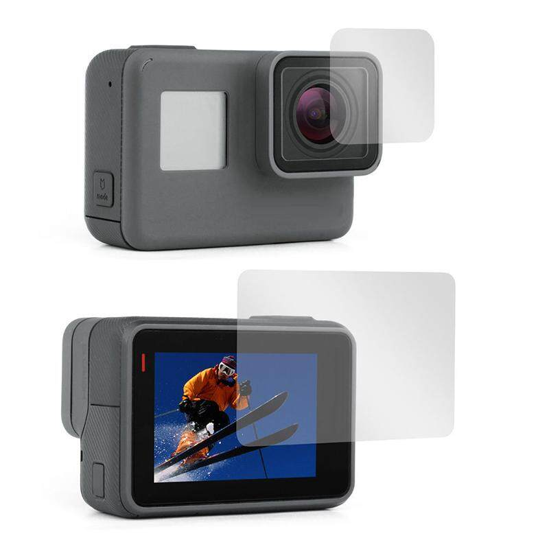 Ishowmall New Lens + Screen Film Protector For Gopro Hero 5 6 7 Black Edition Hero 2018 By Ishowmall.