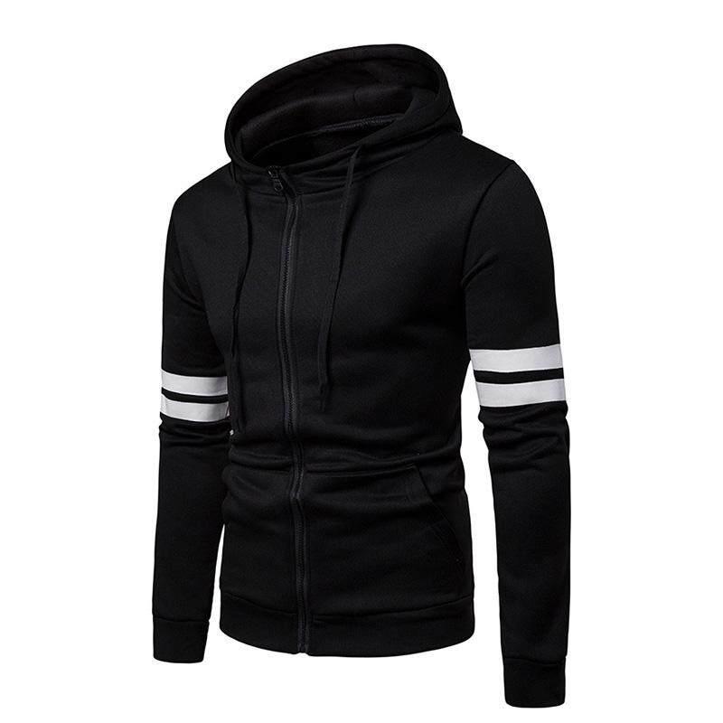 8857c206d139 ZOTOP 1 Pcs Men Hoodie Sweatshirt Top Zipper Long Sleeve Casual Slim For  Sport Outdoor
