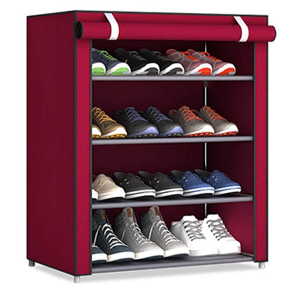 Shoe Rack Multi-Layer Non-Woven Fabric Practical Creative Shoes Hanger Household Supplies Shoe Cabinet Shoe Shelf