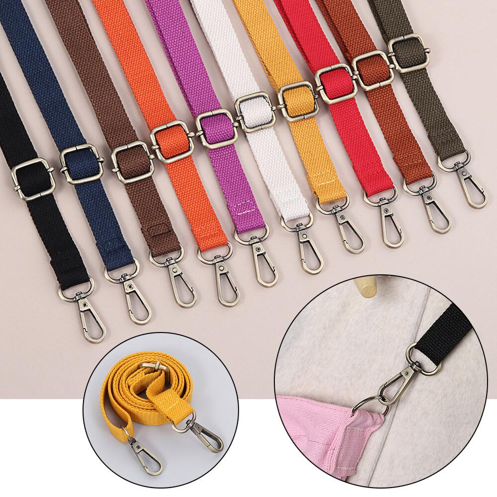 130cm Candy Color Shoulder Bag Straps Backpack Accessories Adjustable Handbag Chain Canvas Bag Belt Bag Strap.