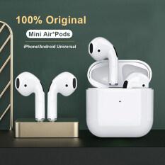 Tai Nghe Bluetooth Mini Thế Hệ Thứ 4 Tai Nghe Không Dây 100% Original Pro 4 TWS Tai Nghe Thể Thao Chơi Game Tai Nghe Không Dây Chân Thực