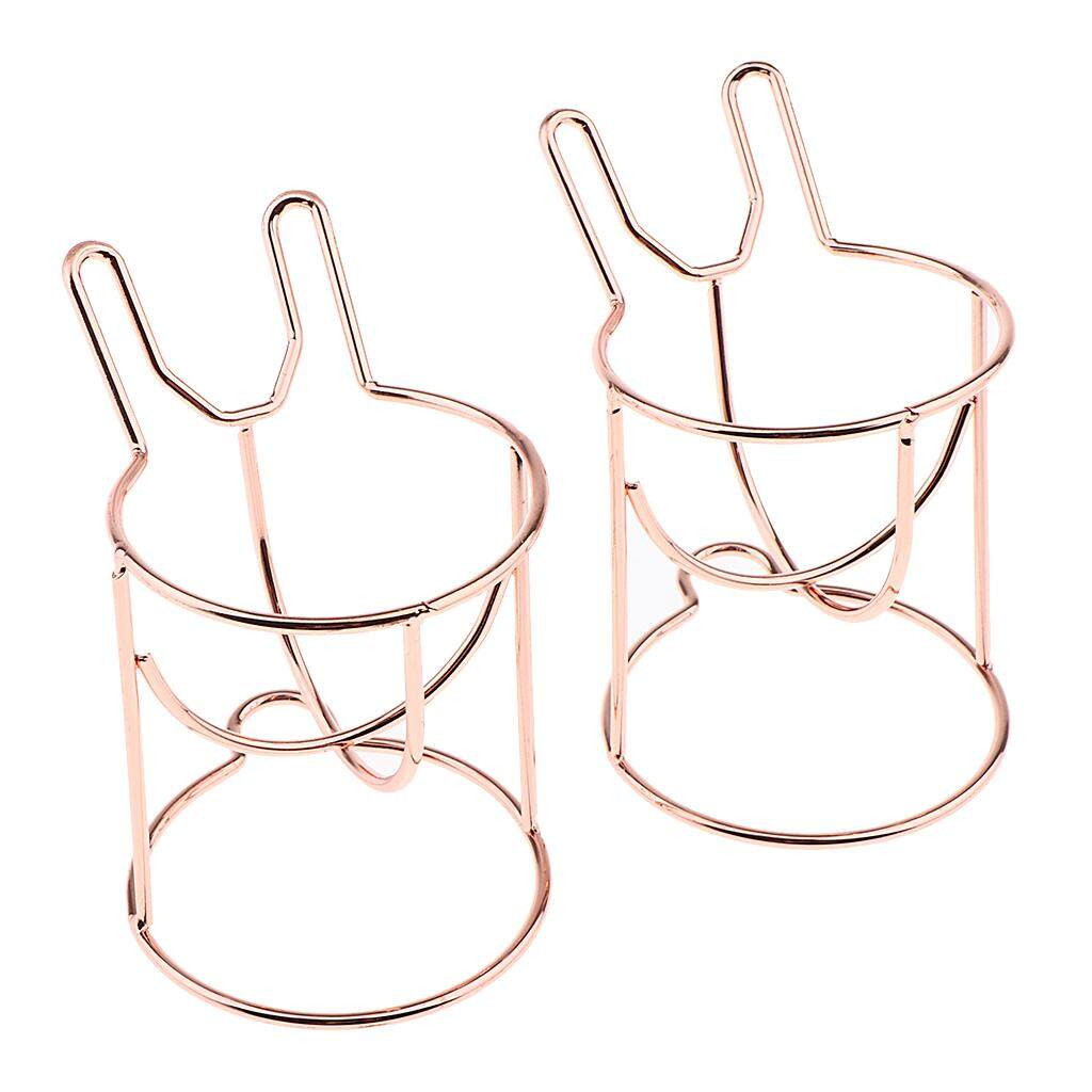 Magideal Pack Of 2 Beauty Cosmetic Blender Holder Stand Drying Rack For All Type Puff By Magideal.