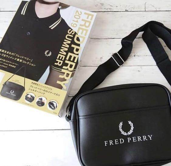 JAPAN MAGAZINE FRED PERRY 2019 SUMMER LIMITED EDITION MESSENGER BAG