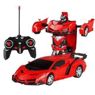BAQSOO Deformationrc Robot Xe, Đồ Chơi Leegoal Robot Biến Hình Xe Leo Tường Xoay 360 Với Chức Năng Biến Dạng Một Nút Và Đồ Chơi Đèn Led Xe RC Cho Trẻ Em thumbnail