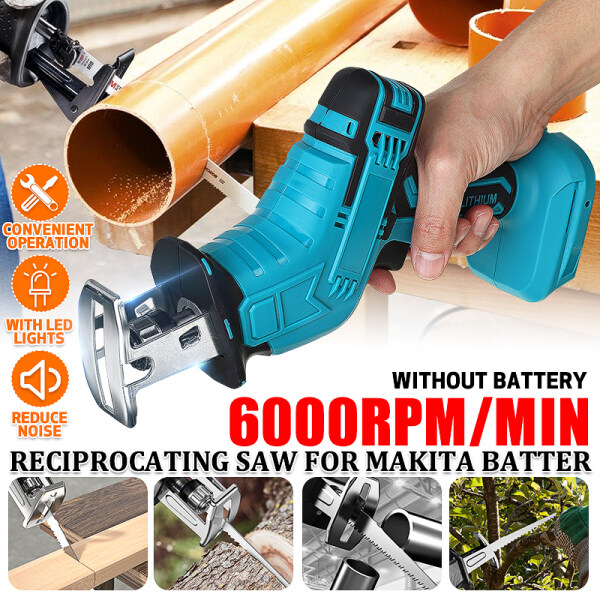 For MAKITA Reciprocating Saw Jig Saw Metal File Attachment Electric Drill Wood Cutting with LED lights