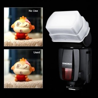 Yongnuo Khuếch Tán Phản Xạ Flash, Ốp Mềm Cho Canon 580EX 580EXII YONGNUO YN560 YN565EX thumbnail