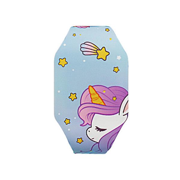 RisBty ❥ Cute Unicorn Luminous Watch Fashion Girls Kids Digital Watch Rainbow Christmas Gifts Malaysia