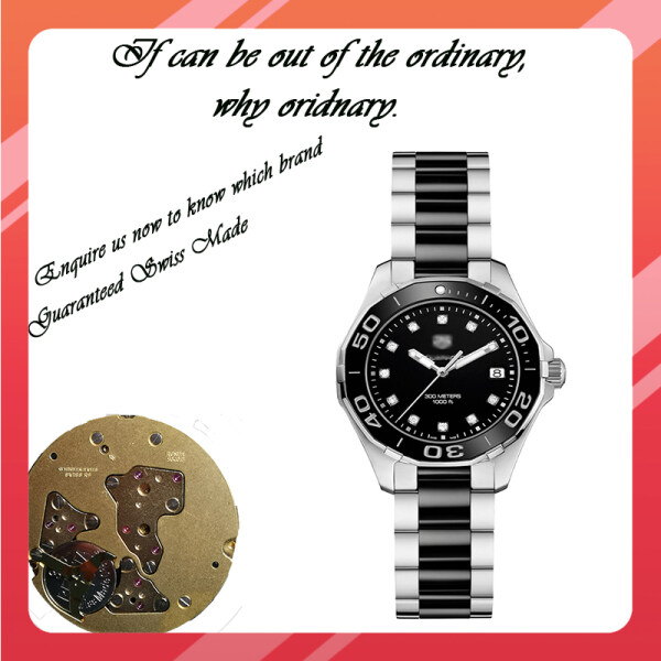Original Reassembled Swiss Made T@g- Heeur- 35mm Ladies watch with 2 year Warranty Malaysia